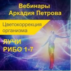СВЕТОКОРРЕКЦИЯ ОРГАНИЗМА ЧЕРЕЗ КЛЕТОЧНЫЕ ОРГАНЕЛЛЫ. ЛУЧИ РИБО 1-7